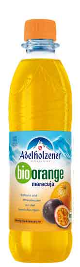 Adelholzener BIO Orange-Maracuja 12 x 0,5 Liter (PET)