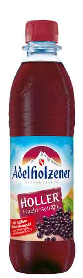 Adelholzener Holler fit & frisch 12 x 0,5 Liter (PET)