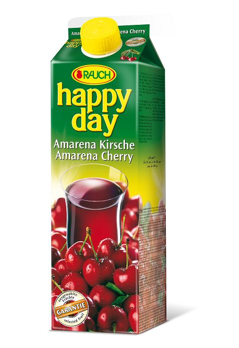 Happy Day Amarena Kirsche 6 x 1 Liter