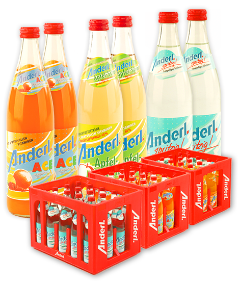 Anderl ACE 20 x 0,5 Liter (Glas)