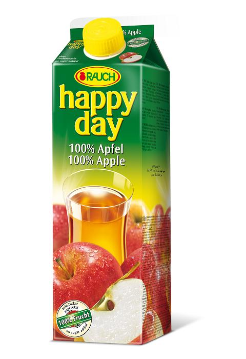 Happy Day 100% Apfel 6 x 1 Liter