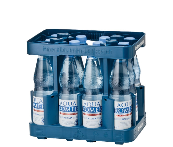 Aqua Römer Medium 12 x 1 Liter (PET)
