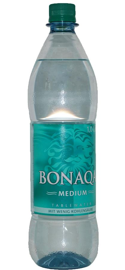 Bonaqua Medium 12 x 1 Liter (PET)