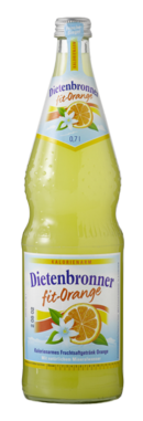 Dietenbronner Fit Orange 12 x 0,7 Liter (Glas)