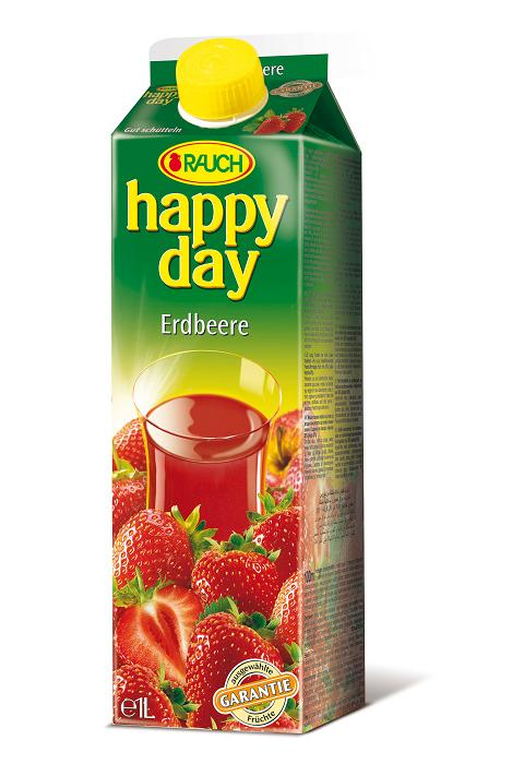 Happy Day Erdbeere 6 x 1 Liter