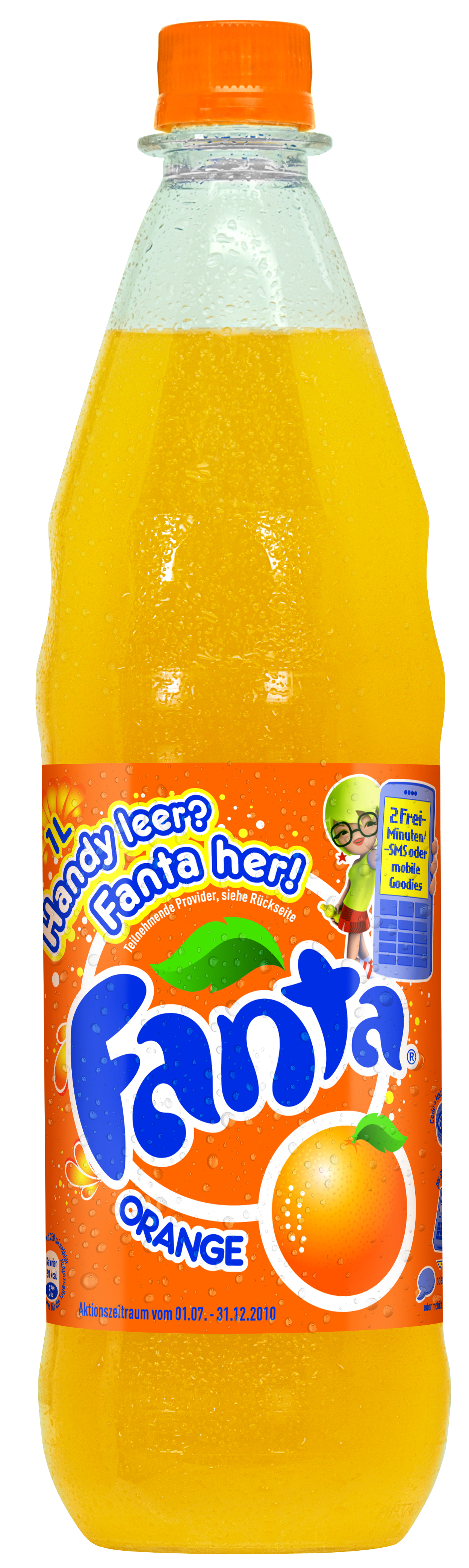 Fanta Orange 12 x 1 Liter (PET)