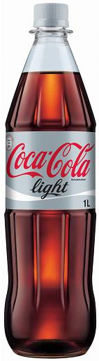Coca-Cola light 12 x 1 Liter (PET)
