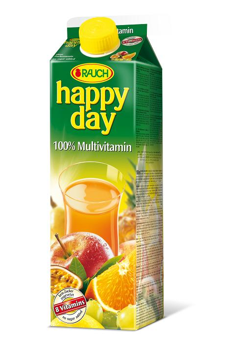 Happy Day 100% Multivitamin 6 x 1 Liter