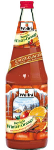 Wolfra Bayrische Winter-Orange 6 x 1 Liter (Glas)