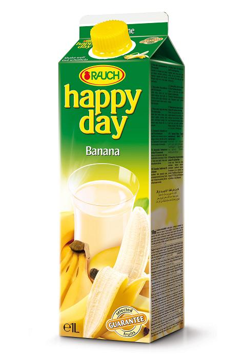 Happy Day Banane 6 x 1 Liter
