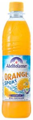 Adelholzener Orange Sport isotonisch 12 x 0,5 Liter (PET)