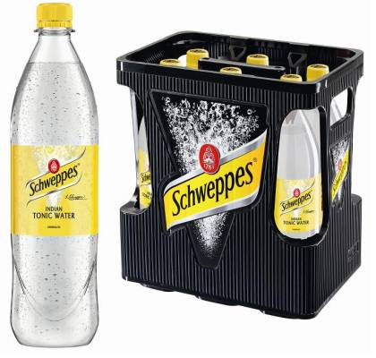 Schweppes Tonic Water 6 x 1 Liter (PET)