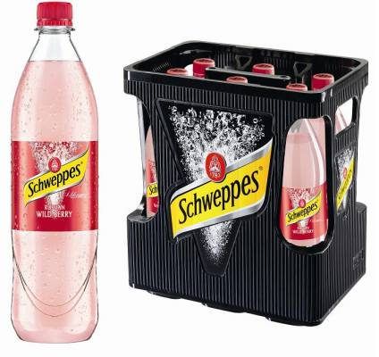 Schweppes Russian Wild Berry 6 x Liter (PET)