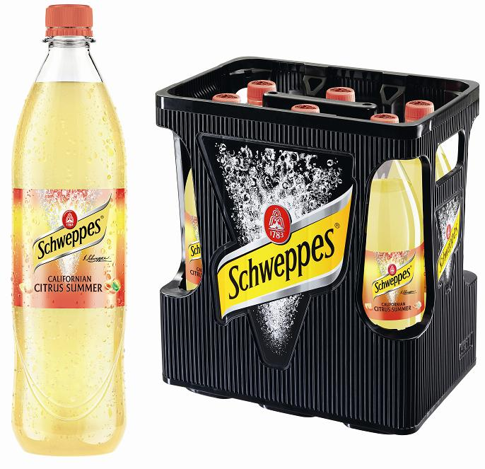 Schweppes Citrus Summer 6 x 1 Liter (PET)
