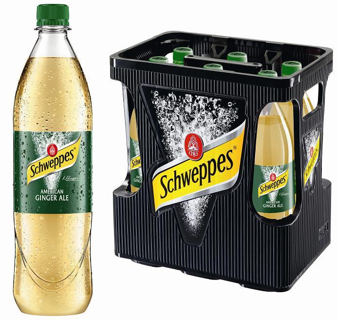 Schweppes Ginger Ale<br />6 x 1 Liter (PET) Schweppes online ...