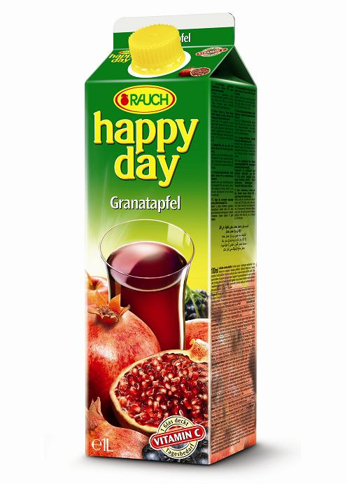 Happy Day Granat Apfel 6 x 1 Liter